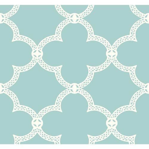 York Wallcoverings Pattern Play Serendipity Wallpaper: Sample Swatch Only