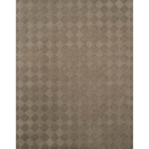 York Wallcoverings York Textures Silver Metallic Diamond Weave Wallpaper