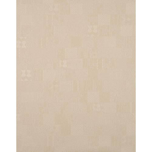 York Wallcoverings York Textures Beige Patchwork Wallpaper: Sample Swatch Only