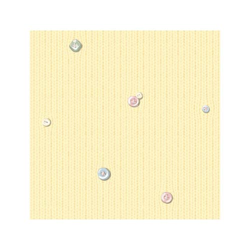 Inspired by Color Pale Yellow, Soft Pink, Powder Blue and Soft Green Wallpaper: Sample Swatch Only