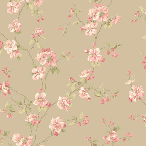 Opal Essence Gold Apple Blossom Wallpaper: Sample Swatch Only