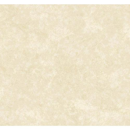 York Wallcoverings Opal Essence Cream and Gold Marble Crinkle Wallpaper