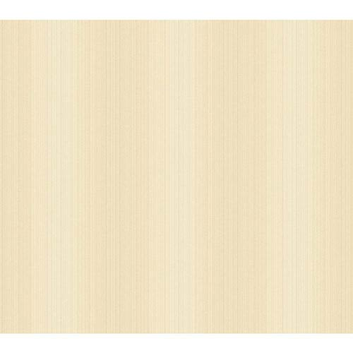 York Wallcoverings Opal Essence Cream Glow Frame Texture Wallpaper: Sample Swatch Only