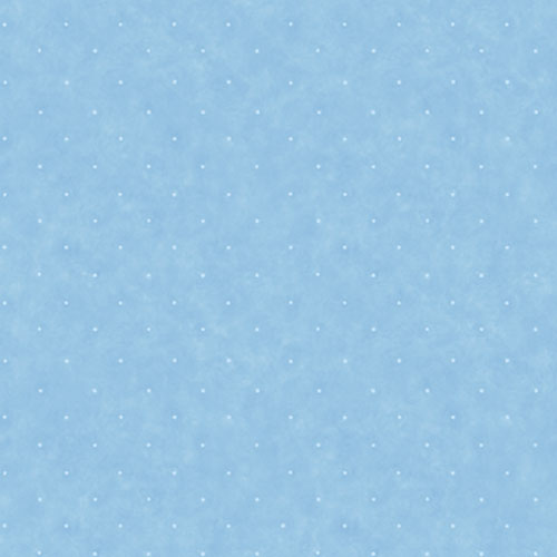 York Wallcoverings York Kids Sky Blue IV Small Polka Dot Wallpaper: Sample Swatch Only