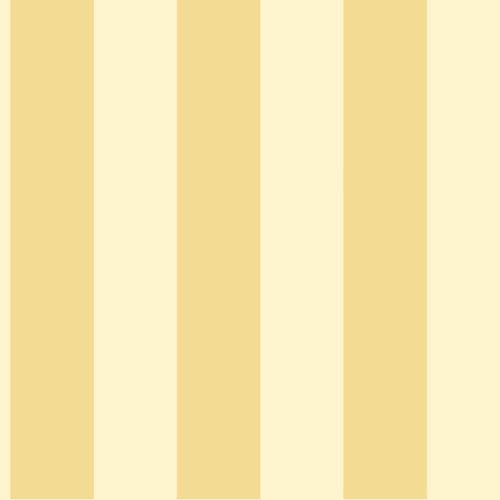 York Wallcoverings Inspired by Color Yellow 3-Inch Stripe Wallpaper: Sample Swatch Only