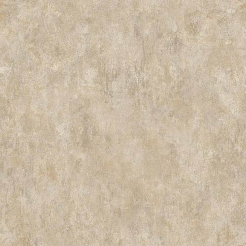 York Wallcoverings Sapphire Oasis Taupe, Gold and Amber Faux Marble Wallpaper: Sample Swatch Only