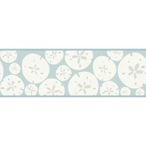 York Wallcoverings Bistro 750 Sand Dollar Border: Sample Swatch Only