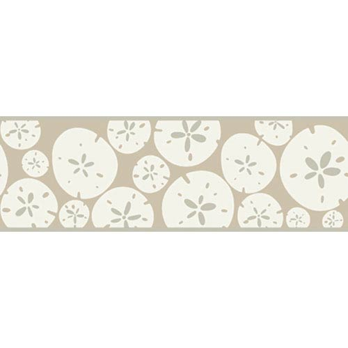 York Wallcoverings Bistro 750 Sand Dollar Border