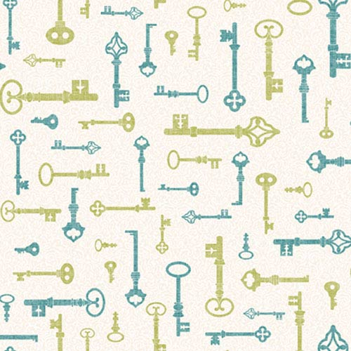 York Wallcoverings Bistro 750 Key and Mini Damask Wallpaper: Sample Swatch Only