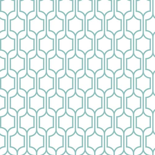 York Wallcoverings Bistro 750 Trellis Wallpaper: Sample Swatch Only