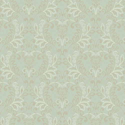 French Dressing Lace Rococo Wallpaper: Sample Swatch Only