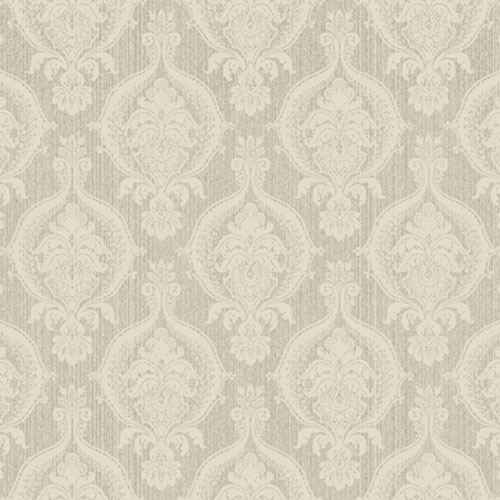 French Dressing Weave Damask Wallpaper: Sample Swatch Only