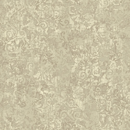 French Dressing Layered Scroll Wallpaper: Sample Swatch Only