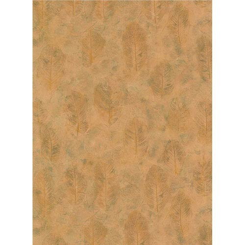 York Wallcoverings Lake Forest Lodge Leaf Texture Wallpaper