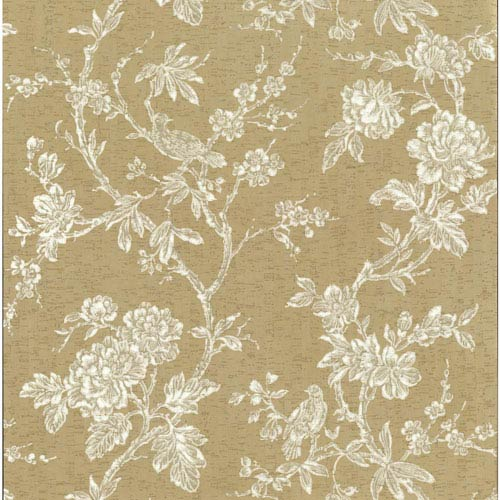 York Wallcoverings Organic Cork Prints Equinox Metallic Wallpaper