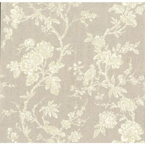 Organic Cork Prints Equinox Beige Wallpaper