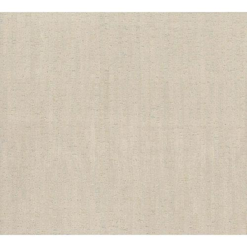 York Wallcoverings Organic Cork Prints Plain Bamboo White and Off White Wallpaper-SAMPLE SWATCH ONLY