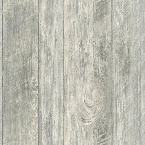 Rustic Living Rough Cut Lumber Black Wallpaper
