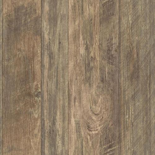 Rustic Living Rough Cut Lumber Brown Wallpaper