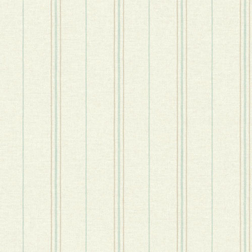 York Wallcoverings Rustic Living Grain Sack Stripe Beige Wallpaper - SAMPLE SWATCH ONLY
