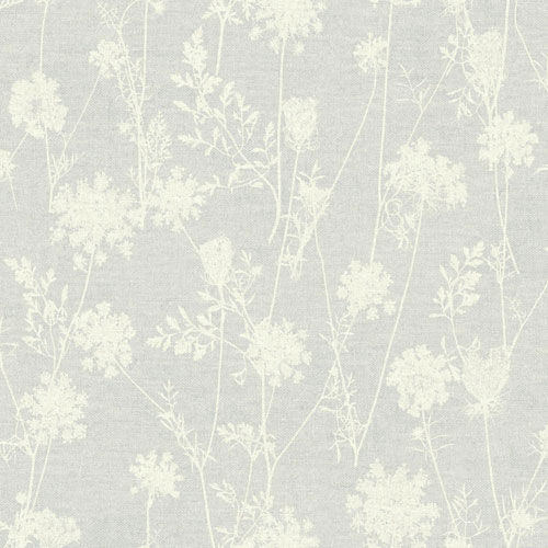 York Wallcoverings Rustic Living Queen Annes Lace White and Off White Wallpaper