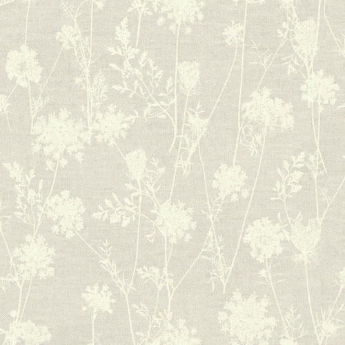 York Wallcoverings Rustic Living Queen Annes Lace Brown Wallpaper - SAMPLE SWATCH ONLY