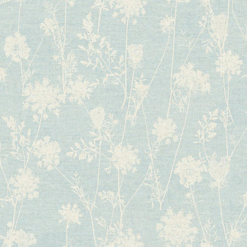 York Wallcoverings Rustic Living Queen Annes Lace Blue Wallpaper