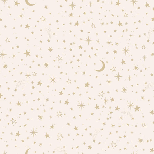 York Wallcoverings Young At Heart Twinkle Pink and Metallic Wallpaper - SAMPLE SWATCH ONLY