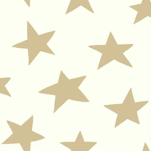 York Wallcoverings Young At Heart Starlight Metallic Wallpaper - SAMPLE SWATCH ONLY