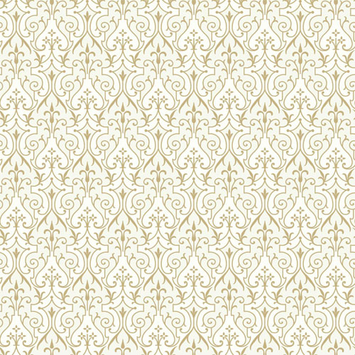 Young At Heart Pizzazz Metallics and White/Off Whites Wallpaper