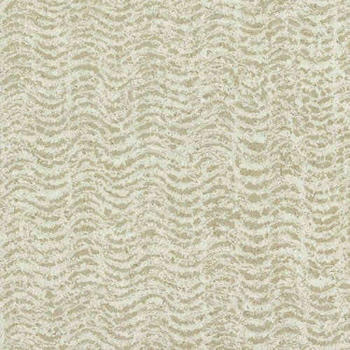 York Wallcoverings Ronald Redding Organic Cork Textures Reef Metallic Wallpaper - SAMPLE SWATCH ONLY