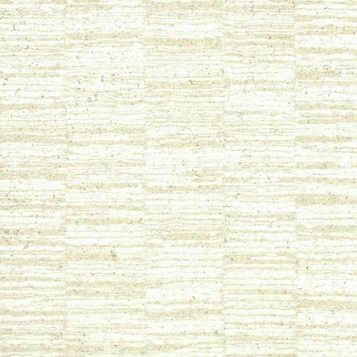 York Wallcoverings Ronald Redding Organic Cork Bioko Beige Wallpaper - SAMPLE SWATCH ONLY