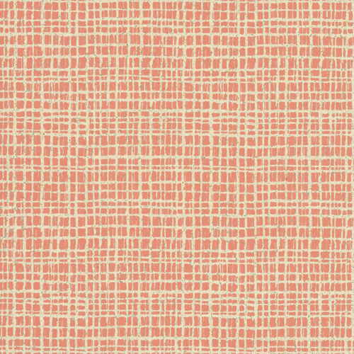 York Wallcoverings Ronald Redding Organic Cork Tarlatan Pink Wallpaper