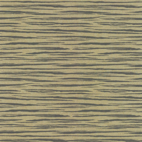 York Wallcoverings Ronald Redding Organic Cork Etched Brown Wallpaper - SAMPLE SWATCH ONLY