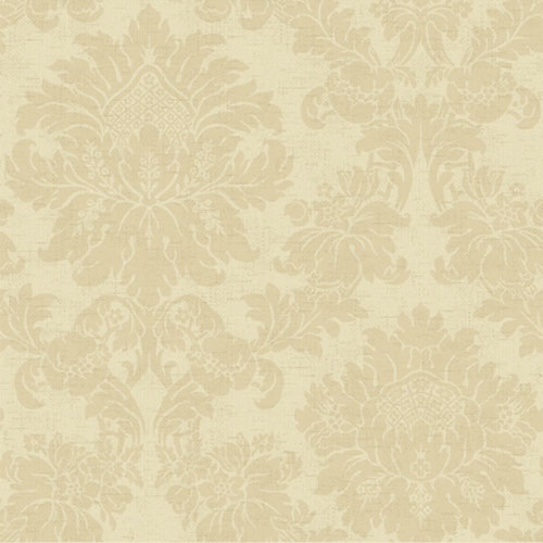 French Dressing Textured Damask Wallpaper: Sample Swatch Only