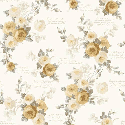 Heirloom Rose Removable Wallpaper- SAMPLE SWATCH ONLY