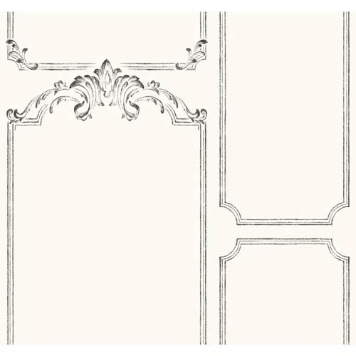 French Panel Removable Wallpaper