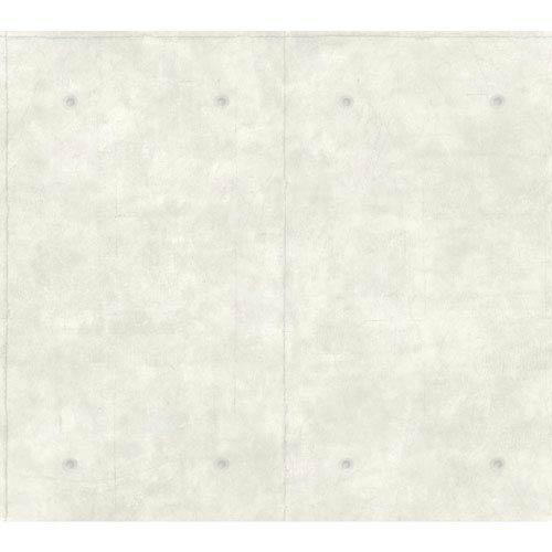 Magnolia Home Concrete White and Gray Removable Wallpaper