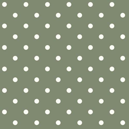 Magnolia Home Dots on Dots White and Green Removable Wallpaper- SAMPLE SWATCH ONLY