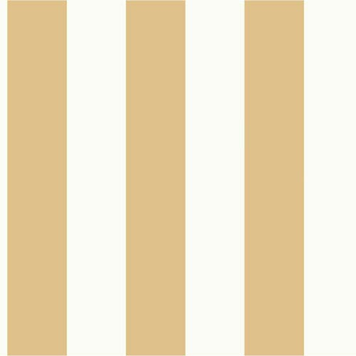 Magnolia Home Awning Stripe Yellow And White Removable Wallpaper Mh1592 Bellacor
