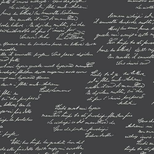 Noteworthy Black and White Removable Wallpaper- SAMPLE SWATCH ONLY