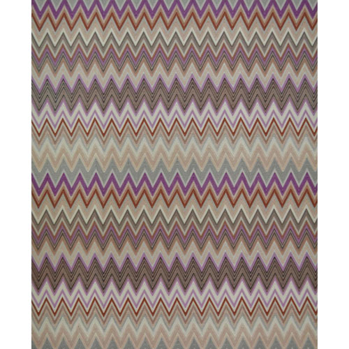 Missoni Home Zig Zag Multicolore Purple Wallpaper