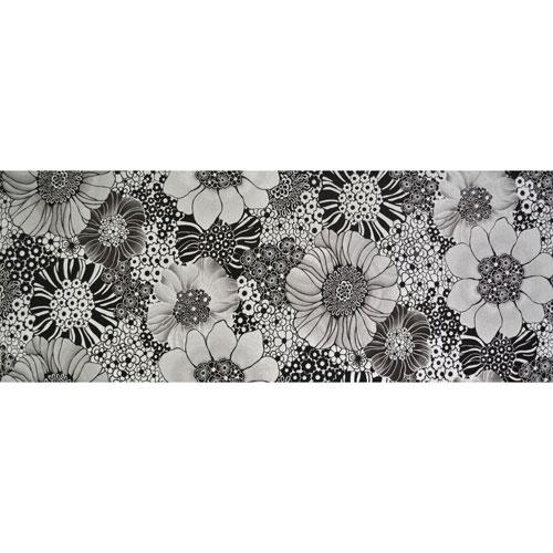 York Wallcoverings Missoni Home Anemones Black Wallpaper