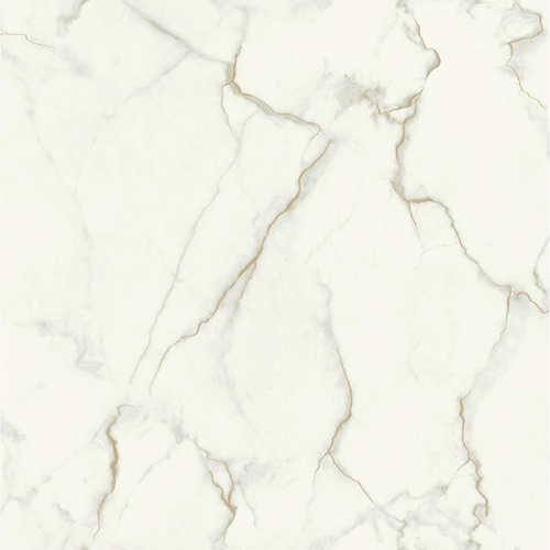 Mixed Materials Gray and Gold Marble Wallpaper