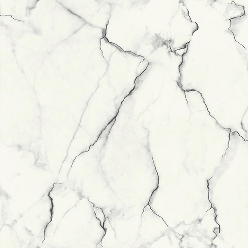 Mixed Materials Black And White Marble Wallpaper Sample Swatch Only