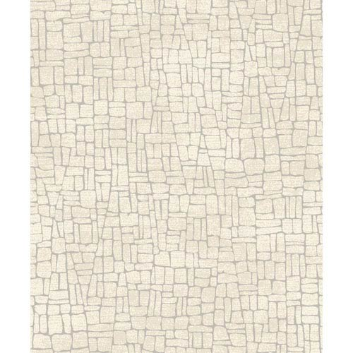 Mixed Metals Butler Stone Wallpaper- Sample Swatch Only