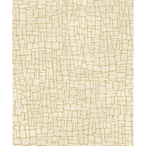 Mixed Metals Butler Stone Wallpaper