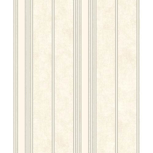 Mixed Metals Channel Stripe Wallpaper- Sample Swatch Only