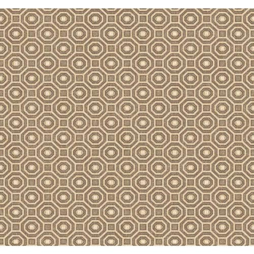 York Wallcoverings Menswear Pragmatic Brown and White Removable Wallpaper-SAMPLE SWATCH ONLY