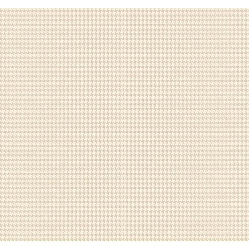 York Wallcoverings Menswear Tyler Houndstooth Metallic Removable Wallpaper-SAMPLE SWATCH ONLY